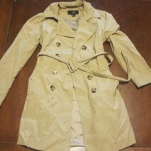 Tan trench coat from Forever 21